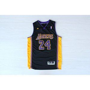 Los Angeles Lakers #24 Kobe Bryant Black  Jersey